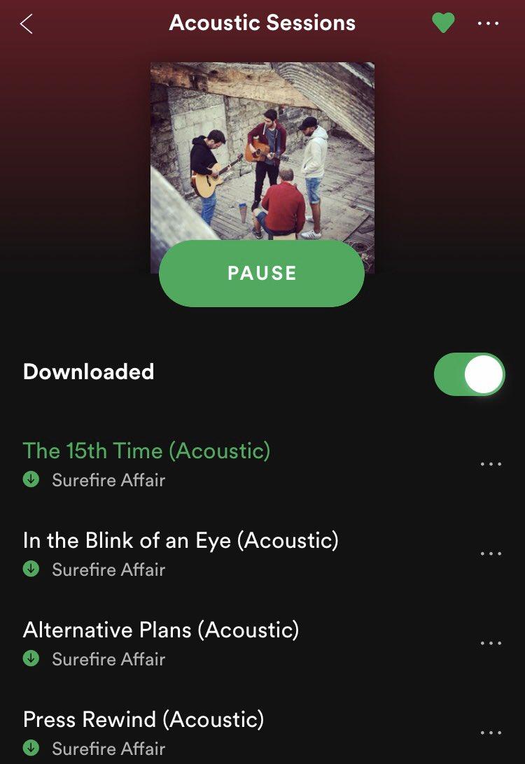 New acoustic versions of 4 of our songs! Now available on Spotify, Apple Music, iTunes, TikTok, Google Play/YouTube, Amazon, Pandora, Deezer, Tidal, Napster, iHeartRadio, Instagram/Facebook   S🔥A  #unsignedartist #leedsmusic #indiemusic #gig #leedsmusicscene #surefireaffair
