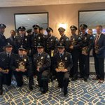 Image for the Tweet beginning: Congratulations to the #SLMPD officers