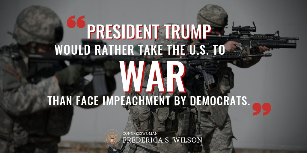 The president must be held accountable for his reckless foreign policy, which undermines American values and our place as a global leader. Is he trying to escape growing political pressure at home?