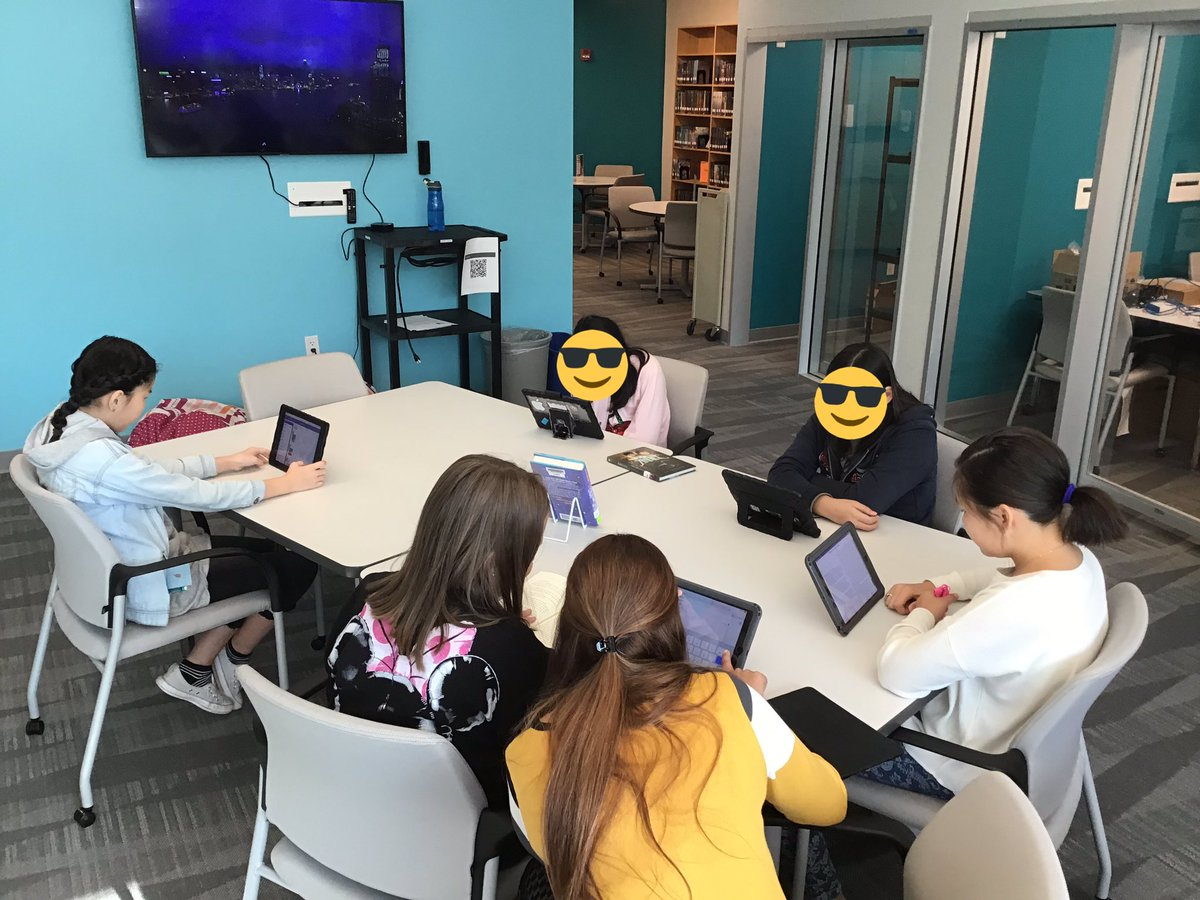 Our ELs learned how to check out ebooks today. The room was silent at the end of class after everyone found a new ebook to read. What a great way to end the week! <a target='_blank' href='http://search.twitter.com/search?q=engage'><a target='_blank' href='https://twitter.com/hashtag/engage?src=hash'>#engage</a></a> <a target='_blank' href='http://twitter.com/APSLibrarians'>@APSLibrarians</a> <a target='_blank' href='https://t.co/W6k5E3UIX0'>https://t.co/W6k5E3UIX0</a>