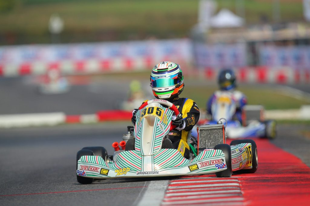 From the eyes of the driver: ROK Cup Superfinal with Jace Denmark-Gessel – Day 3  >> https://bit.ly/2B0ALXo  Photo @codyschindel / @CKN_Live  #RokSuperFinal2019 #SouthGarda #Lonato #Karting #TheRaceBox #RoadToF1