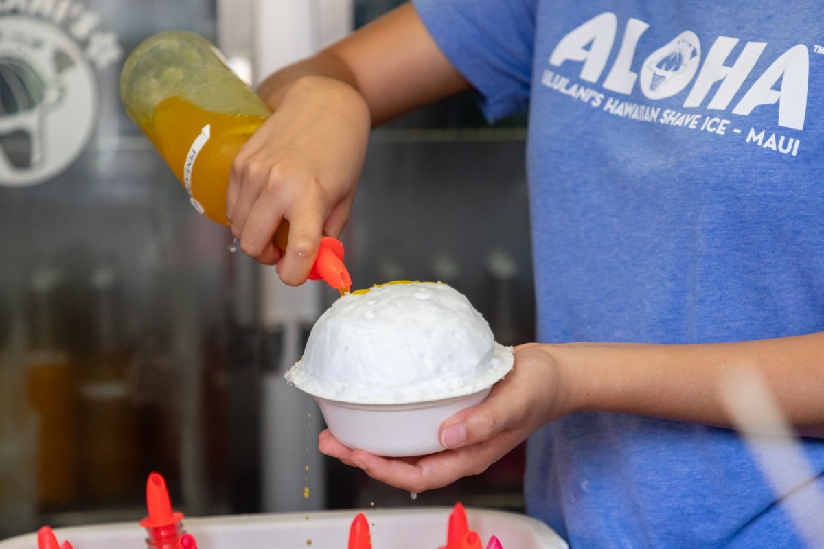 We feel strongly about complete syrup coverage -- so seriously in fact that our team's always happy to top off your shave ice if need be.<br>http://pic.twitter.com/hl4tknk0PZ
