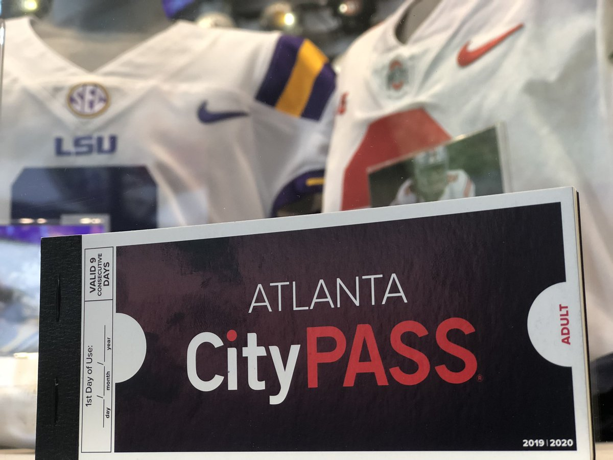 Sightseeing in Atlanta? @CityPass makes it easy and affordable to visit five top attractions, including the top-rated @cfbhall. Plus, youll skip most ticket lines and save up to 41% or more on admission 🎟 #ImARealFan bit.ly/35lyCmY