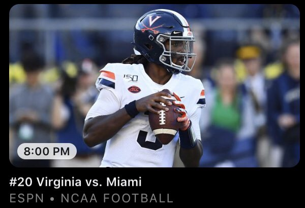 .@LRiddickESPN appreciates teams that are smart and balanced in all phases of the game. Look forward to his thoughts on @UVAFootball tonight. He, @FlemmingDave & @paulcarcaterra will call #UVAvsMIA -8p ET, ESPN.