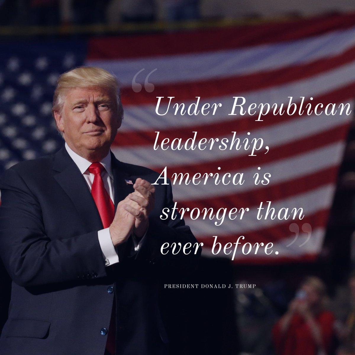 THANK YOU, @realDonaldTrump!