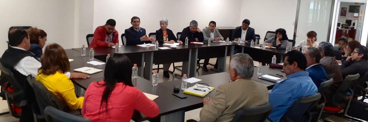 La Subsecretaria Mtra. @RamirezAnalco, se reunió con los titulares de las direcciones generales y niveles educativos de #EducaciónBásica para organizar y definir la estrategia de participación de la @SEPHidalgo en el Tianguis Turístico de los Pueblos Mágicos.
