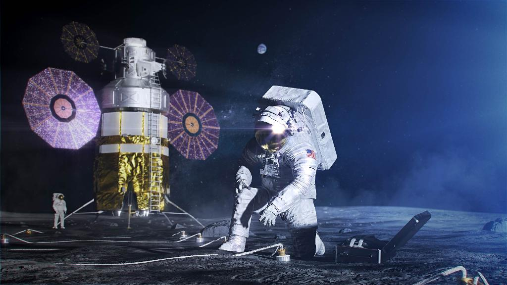 What will the astronauts of #Artemis wear as they explore the lunar surface? Tune in Tuesday afternoon for an up-close look at @NASAs new spacesuits >> go.nasa.gov/2IHnG9r