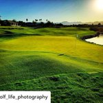 Image for the Tweet beginning: Gorgeous shot of the 18th!⛳️