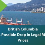 Image for the Tweet beginning: British Columbia feels a downward