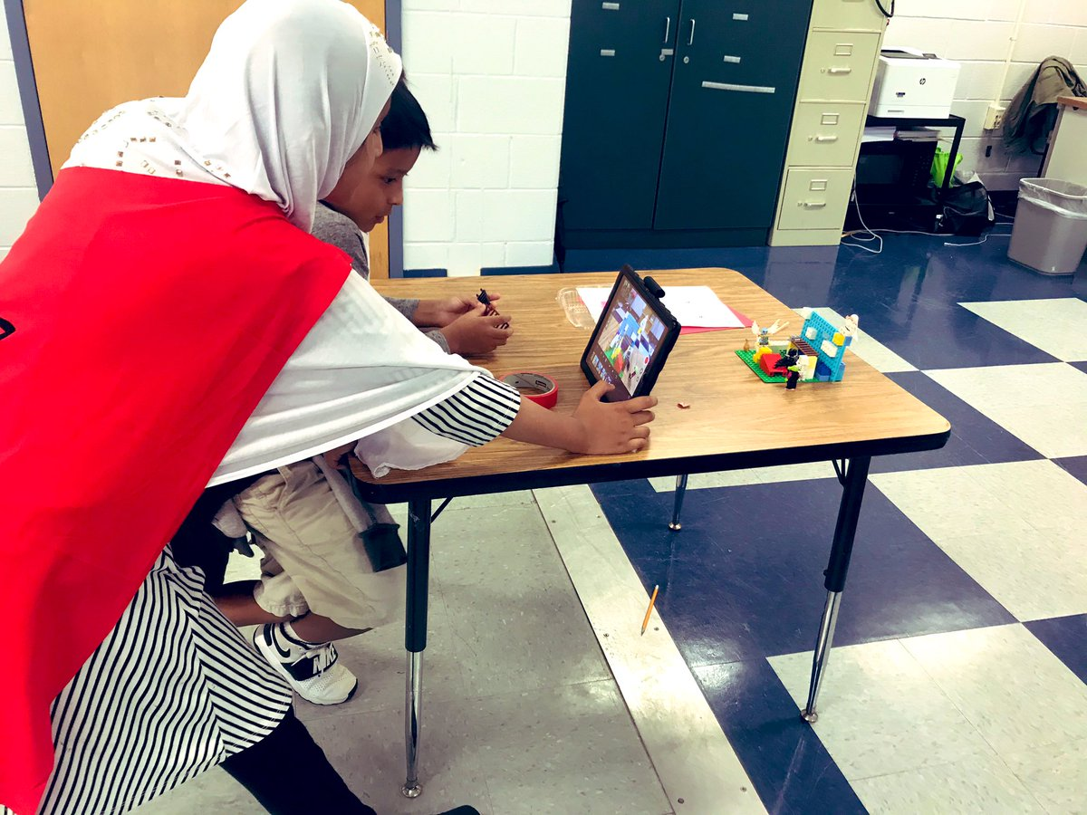 Another busy day in the <a target='_blank' href='http://twitter.com/apsdrew'>@apsdrew</a> STEAM Lab! 3rd graders continue their <a target='_blank' href='http://search.twitter.com/search?q=stopmotion'><a target='_blank' href='https://twitter.com/hashtag/stopmotion?src=hash'>#stopmotion</a></a> LEGO projects to answer their <a target='_blank' href='http://search.twitter.com/search?q=oneschoolonedq'><a target='_blank' href='https://twitter.com/hashtag/oneschoolonedq?src=hash'>#oneschoolonedq</a></a> <a target='_blank' href='http://twitter.com/DrewPTA'>@DrewPTA</a> <a target='_blank' href='https://t.co/xZUTbQGlhF'>https://t.co/xZUTbQGlhF</a>