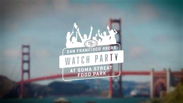 Need a place to watch #SFvsLAR? Join us in the city for a FREE event! Details for tomorrow: 49rs.co/D21UJ3