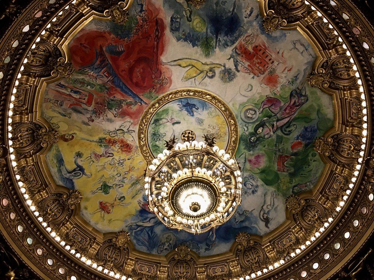 Chagall's ceiling. adactio.com/notes/15954