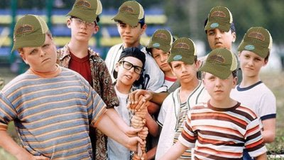 Spend $50 or more at madrinascoffee.com and receive a FREE Madrinas Leather Patch Hat - its perfect for all occasions. 🤠🙌 For example: its great for baseball. Just take it from the kids from The Sandlot. ⚾️🧢