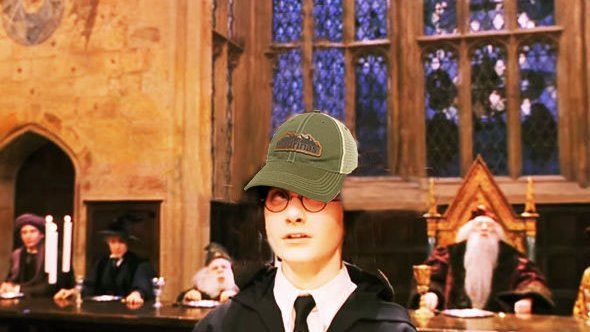 Many people dont know this, but the Madrinas Leather Patch Hat also has been known to serve as a magical tool to sort young witches and wizards into their houses. 🧙♂️🔮(That one may or may not be true)