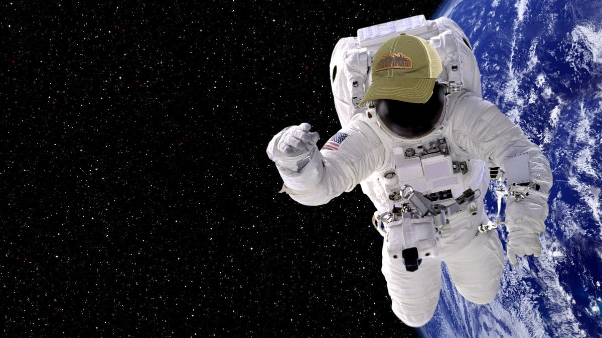 It's even great for space travel. Spend $50 or more on madrinascoffee.com and receive a FREE Madrinas Leather Patch Hat - it's out of this world. 🌎💫