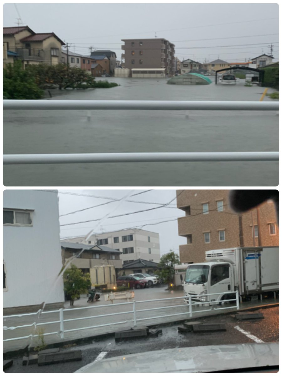 台風 19 号 静岡