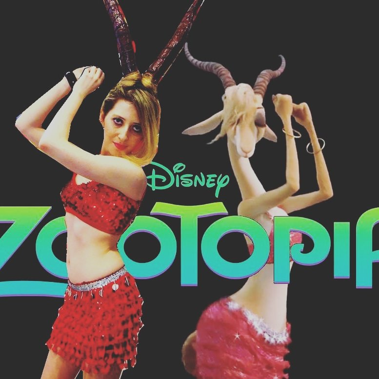 Walt Disney Zootopia Zootropolis Shakira Try Everything Gazelle Cosplay Costume Mi Tiles Com