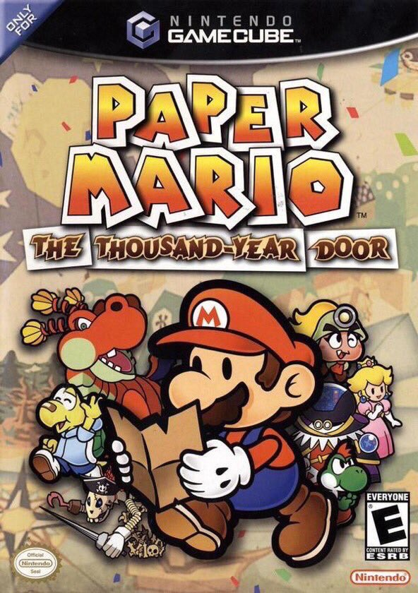 Paper Mario: The Thousand-Year Door for the Gamecube was released on this day in North America, 15 years ago (2004)
