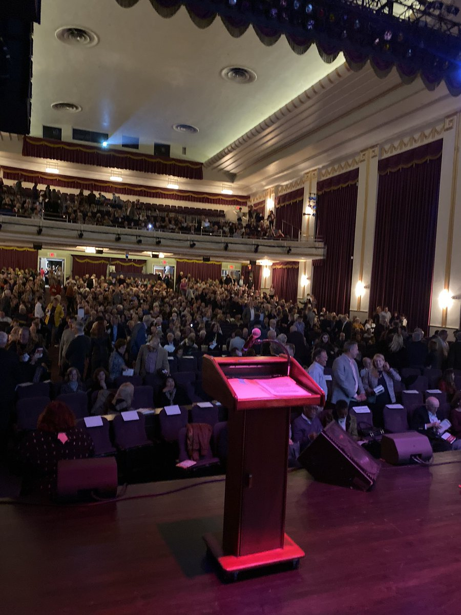 Katy Tur On Twitter Sold Out Crowd For Preetbharara Here In Morristown Nj I Can T Imagine What We Ll Fill An Hour With Such A Slow News Week Https T Co Tcknogfouk