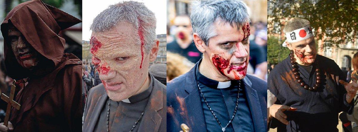 Mais au fait c'est quoi la zombie walk ? Notre expert Patrick Six met ses tripes sur la table pour vous en raconter l'origine chez Bruce Lit. http://www.brucetringale.com/les-zombies-sont-vos-amis/…  #Brucelitleblog #Zombies #Zombieswalk @McGoogan_6pic.twitter.com/BWScntzrku