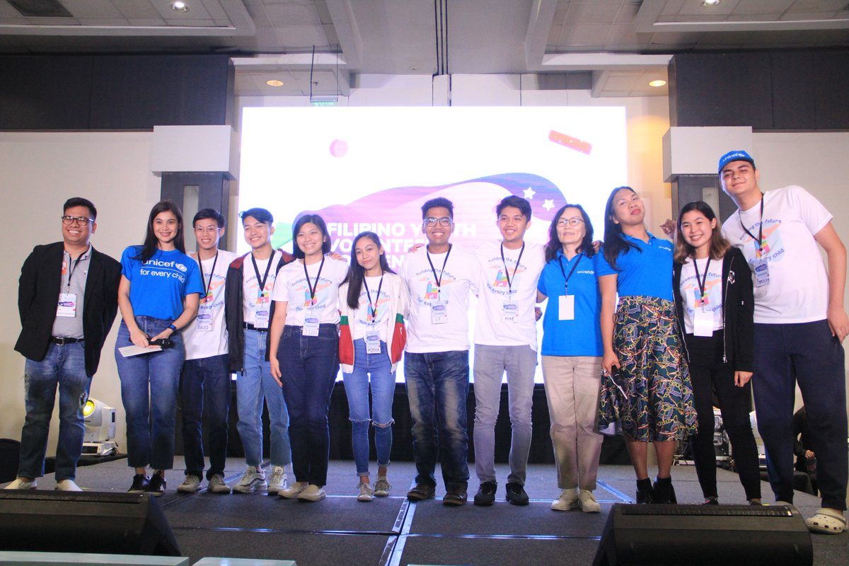 I met so many inspiring young people at the 2019 Filipino Youth Volunteer Convention @fyvc_ph! You are the future of the Philippines! UNICEF protects the rights of children and adolescents.