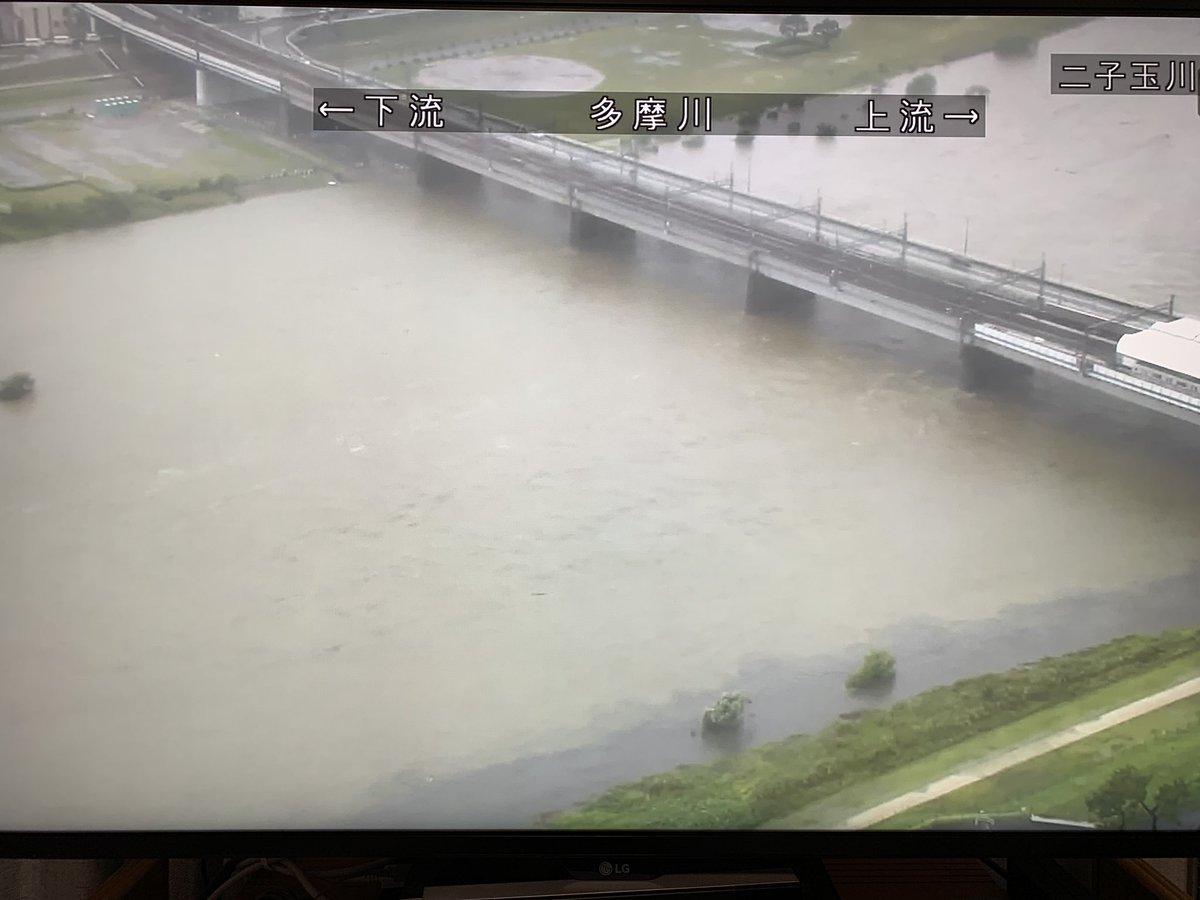多摩川 ライブ カメラ 二子 玉川