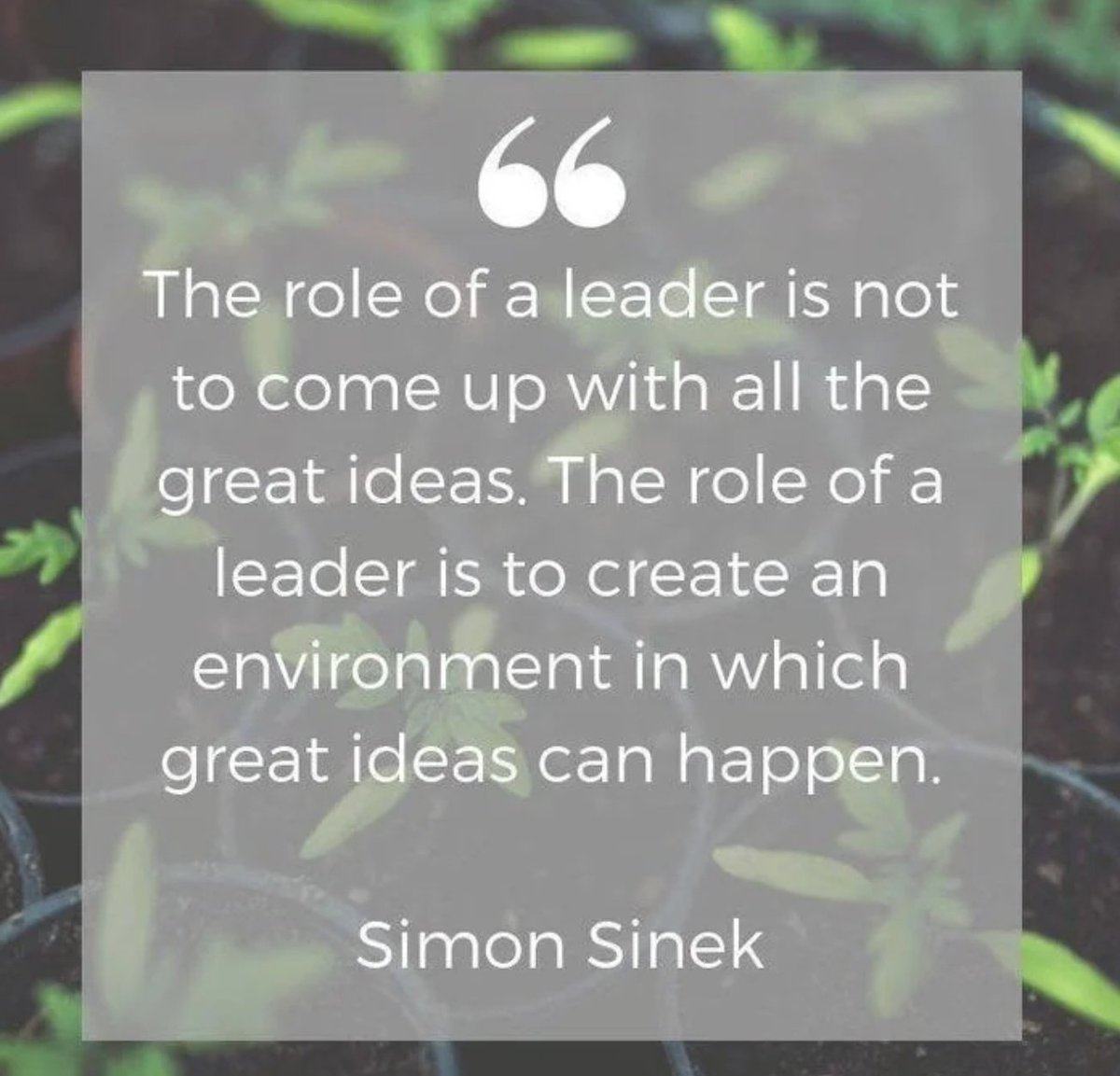 Do you work in an environment where great ideas can happen? Your answer matters.