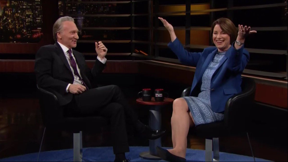 I think Americans dont want the loudest voice in the room anymore – theyve got that in the White House. I think they want someone that is tired of the noise and nonsense and wants to get things done. – Sen. @AmyKlobuchar #RealTime