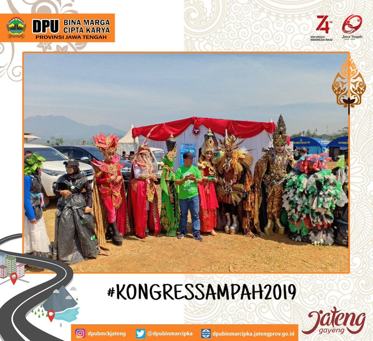 Keseruan #kongressampah2019 yang di adakan di desa kesongo,kec. Tuntang, kab. Semarang, tanggal 12-13 oktober 2019 #KongresSampahJateng #JatengGayeng #ganjarpranowo
