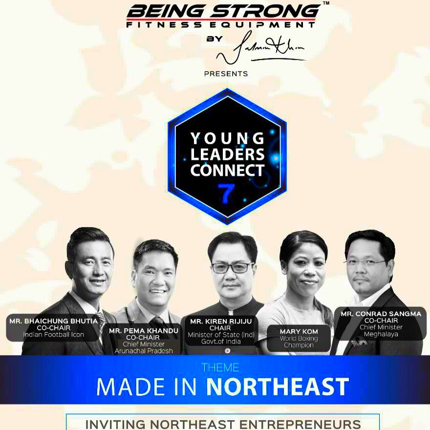 Young Leaders Connect aims to push the visions of @narendramodi ji to make NORTH-EAST INDIA an economic hub. The event is being promoted by @beingstrongind with a strong focus on MADE IN NORTH-EAST. This exciting event will be held in New Delhi on 2nd Nov.