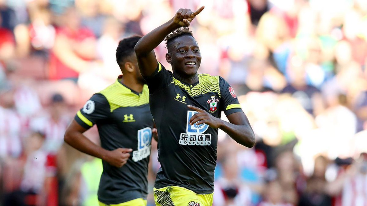 Outstanding solo goal ⚽️ @MoussaDjenepo2 scores @budfootball Goal of the Month on his first @SouthamptonFC start Watch ➡️ preml.ge/gRrXUr