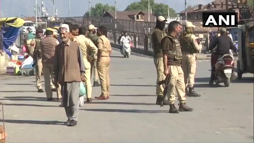At Least Five Injured in Grenade Attack in Kashmirs Srinagar Amid India Clampdown - Top Tweets Photo