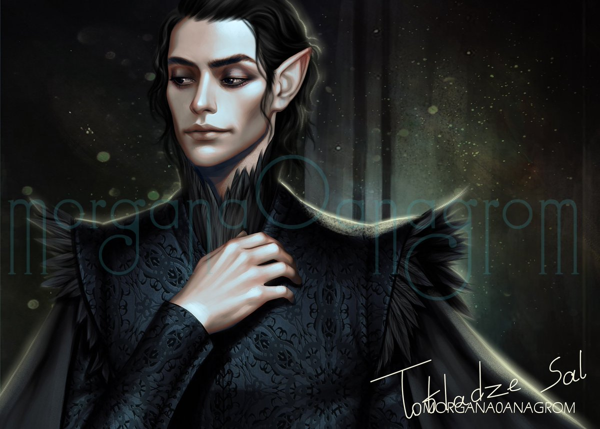 This is actually an old painting I did last year. Thought I would post it.😅 character is Cardan from #thefolkoftheAir book series by @hollyblack hope you guys will like it xoxo #cardan #thecruelprince #bookcharacter #bookillustration #fanart #thewickedking #thequeenofnothing