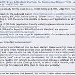 Image for the Tweet beginning: #ErgoPlatform Update: Mainnet 3.1.2 and