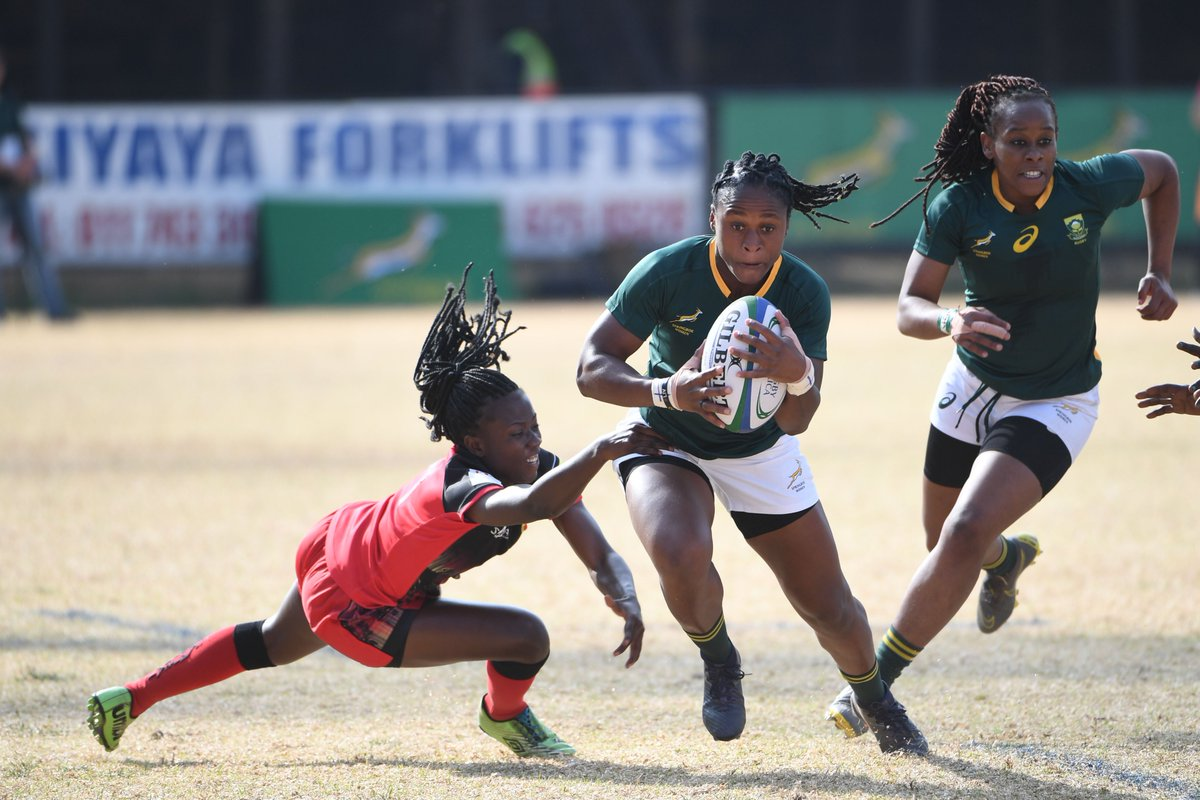 Follow our #Imbokodo today as they contest the @RugbyAfrique Womens Sevens crown and @WorldRugby7s qualification! Live streaming: facebook.com/RugbyAfrique/v… Full match schedule and results: rugbyafrique.com/womens-sevens/…