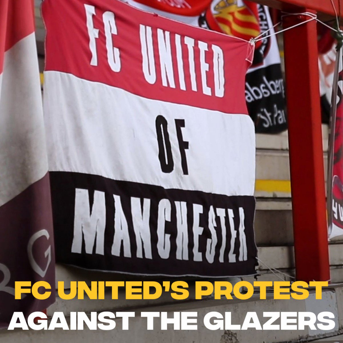 """""""FC United is the only genuine anti-Glazer protest there's ever been.""""  After a miserable start to the season, the frustration towards Manchester United's owners is growing. @FCUnitedMcr is the club for disillusioned fans. https://t.co/MtPIh1ru03"""