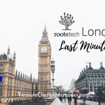 Image for the Tweet beginning: RootsTech London: Last Minute Tips