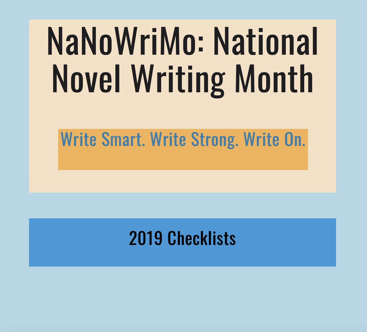 Free resource for NaNoWriMo participants from my website. Check out a new pin and give my account some love!  Thanks. #fiction #storytelling #WritingCommunity #WriterLift #writerslift #FF    https://www. pinterest.com/pin/7896781158 95835088/   … <br>http://pic.twitter.com/YuKvDkxVQS