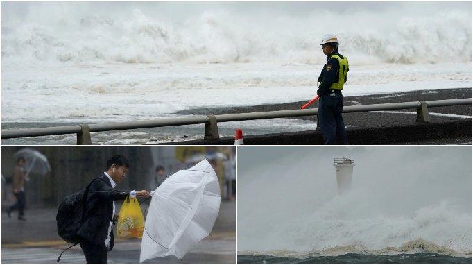 Heavy rain and winds lash Tokyo as typhoon Hagibis approaches itv.com/news/2019-10-1…