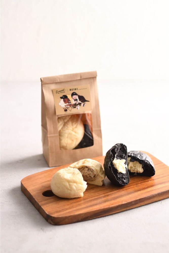 『アルプスの少女ハイジ』モチーフのホットチョコレートや白パン&黒パン、渋谷・東急東横店にて -