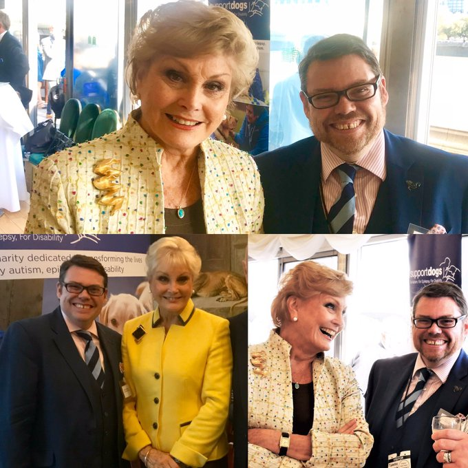 Happy Birthday to Angela Rippon, 75 today. I do wish she d stop asking me for a photo!