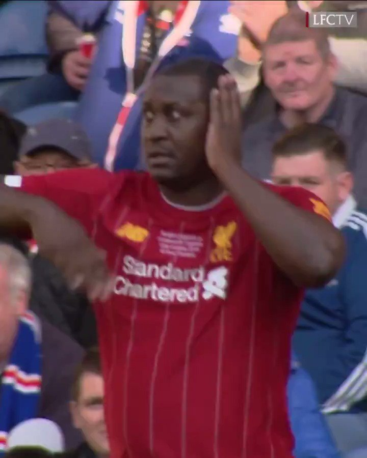 Weve seen this before 😍😍 THAT celebration 😅🕺