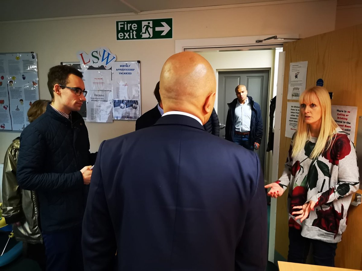 With #Bromsgrove South candidate Kyle Daisley yesterday at Basils Bromsgrove which supports young people at risk of homelessness. Thank you Basil's for the vital work you do for young people across West Midlands