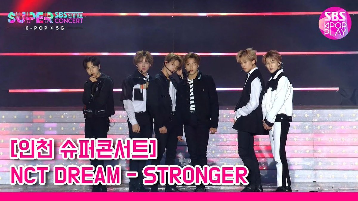 191006 NCT DREAM @ SBS Inkigayo Super Concert in Incheon STRONGER youtu.be/vFktr4ZNIy0 BOOM youtu.be/n6J1QM-ZXoA @NCTsmtown @NCTsmtown_DREAM