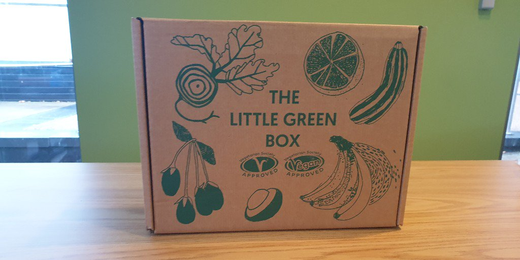 See you on Tuesday from 11:30 am in RLB, next to the POD as we will be giving out hundreds of the #LittleGreenBox for FREE, courtesy of @vegsoc   We're extremely grateful and sure you will be too when you see all the goodies inside! #Vegetarian #Vegan #Plymouth #PlymouthVeggies
