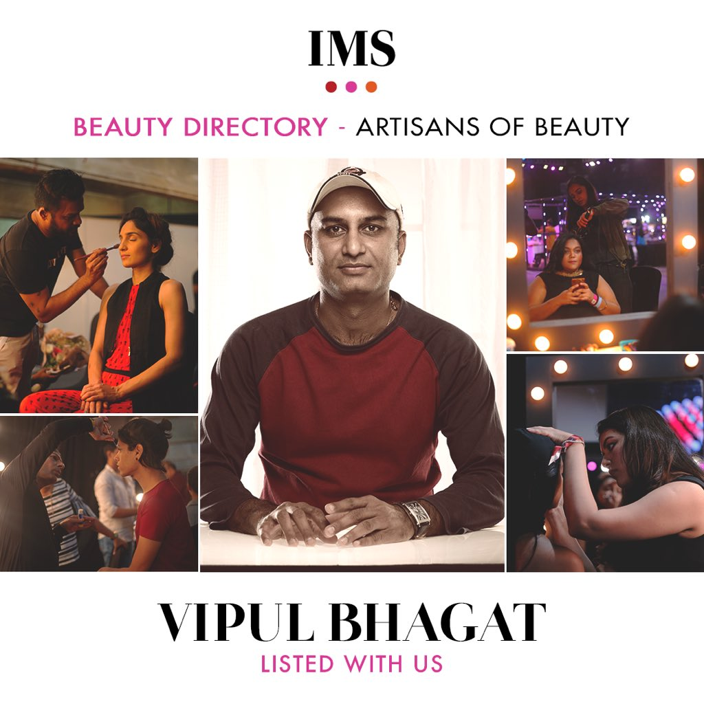 The magician for every bride, @vipulbhagat13 , is here! From the best to the finest, we got it all! Are you one of them? Join the #IMSBeautyDIrectory and grow your career with us. DM us to know more!  #ComingSoon  #IndiaMakeupShow #IMS #Makeup #MakeupArtist #MUA #VipulBhagat pic.twitter.com/j6jdTRdHDL