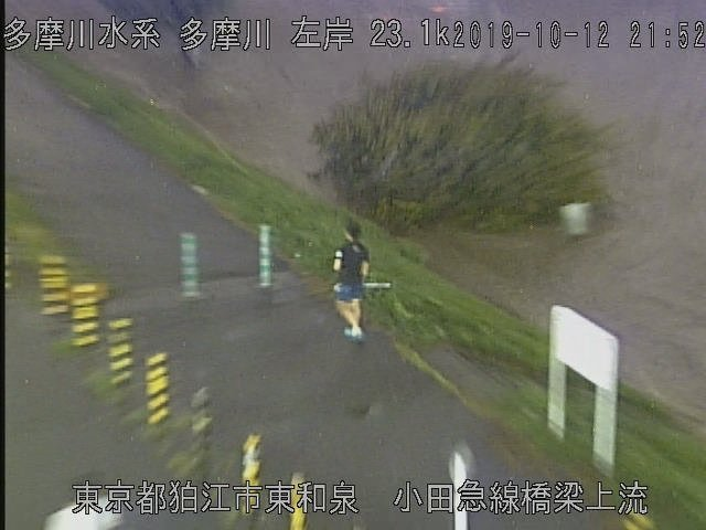 多摩川ライブカメラ狛江