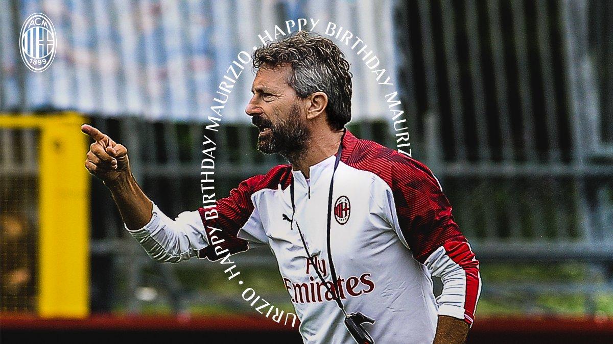 Happy Birthday, Coach Ganz, as you turn 51 today! 🎉 Tanti auguri di buon compleanno Mister Ganz! 🎉 #SempreMilan