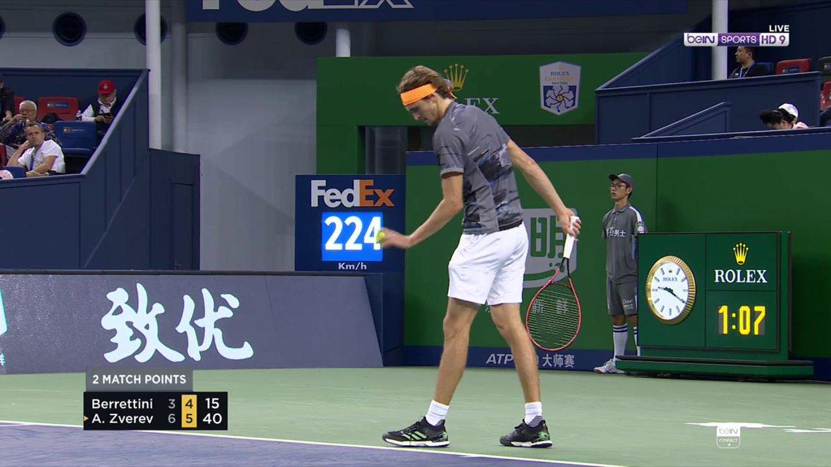 #تنس 📺 HD9 زفيريف يقول كلمته ويحسم تأهله إلى نهائي بطولة شنغهاي! #ShanghaiMasters #ATP