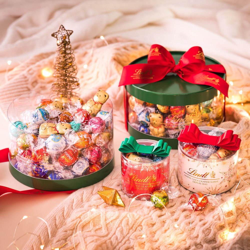 リンツのクリスマス限定チョコ19年 - カスタマイズできるアドベントカレンダー&テディベア型チョコ -
